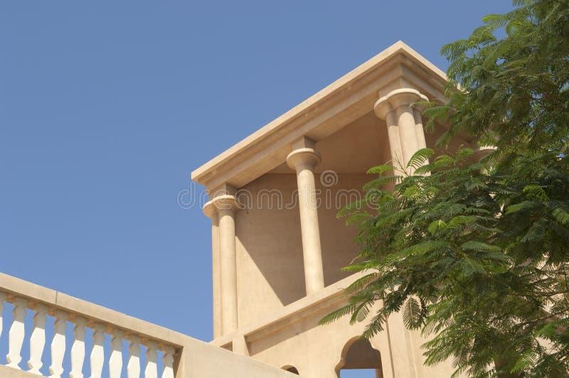 Al阿拉伯迪拜堡垒khaimah ras 免版税库存图片