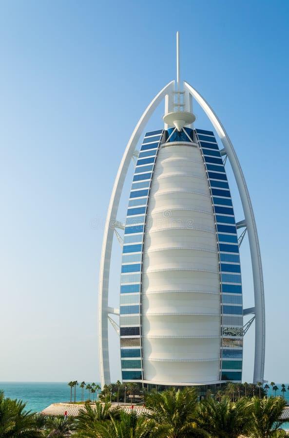 Al阿拉伯burj旅馆 免版税库存图片