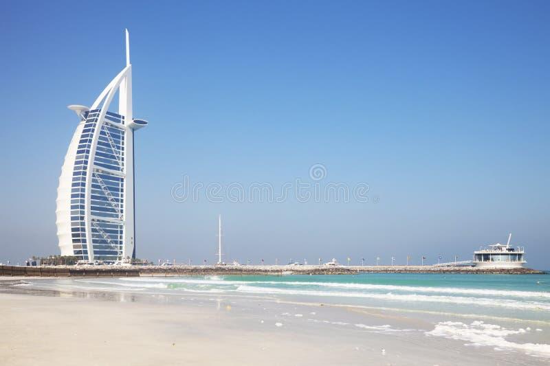 Al阿拉伯burj迪拜阿拉伯联合酋长国 免版税图库摄影