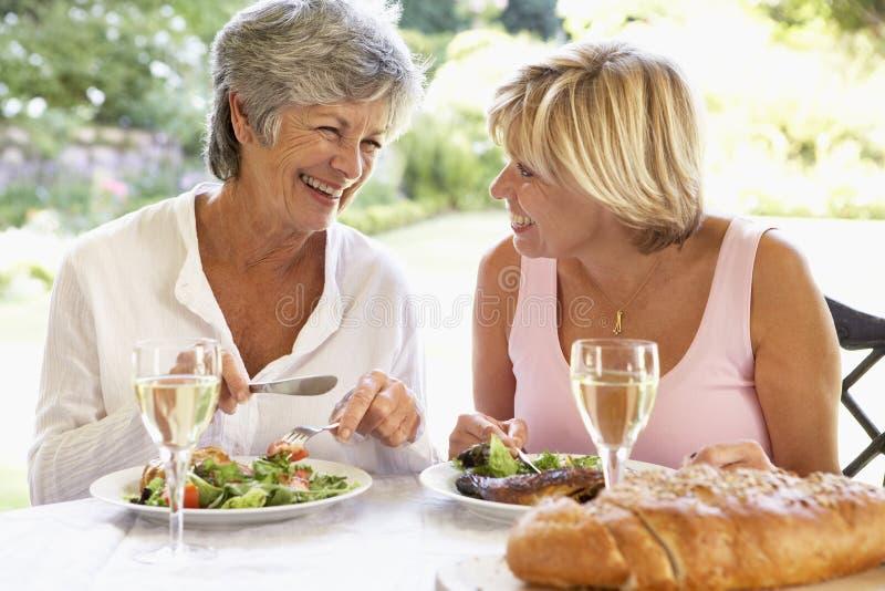 al łasowania fresku przyjaciół posiłek obraz royalty free