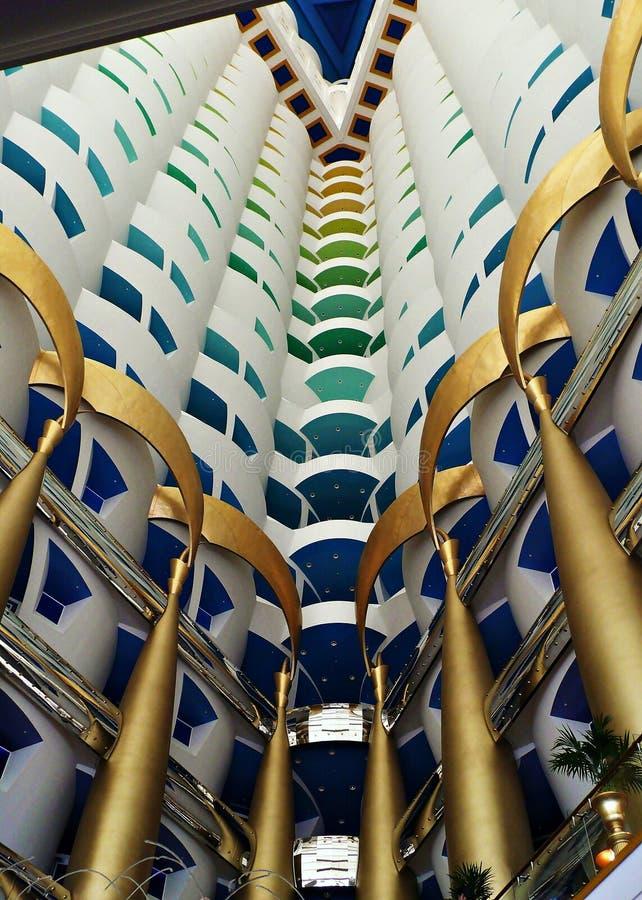 Al Άραβας burj στοκ εικόνα