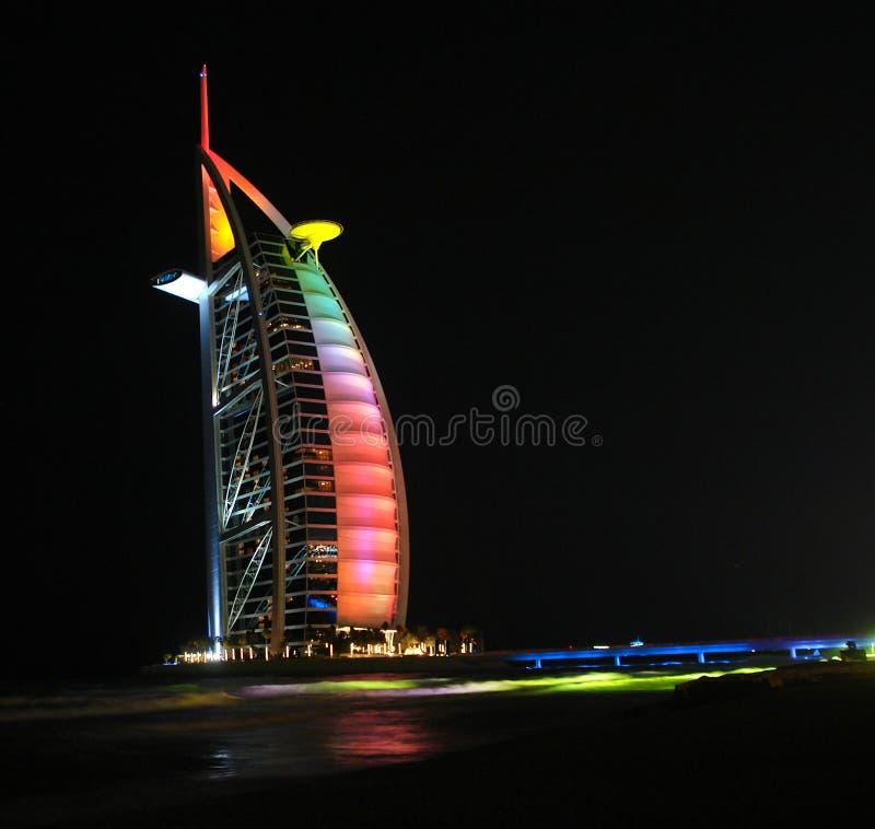 Al Άραβας burj dubail στοκ εικόνα με δικαίωμα ελεύθερης χρήσης