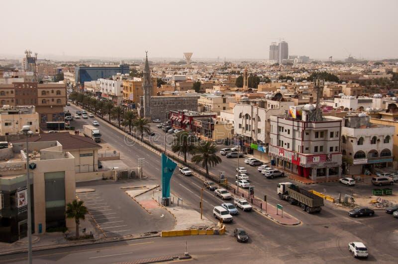 Al Эль-Хубар в Саудовской Аравии стоковое изображение