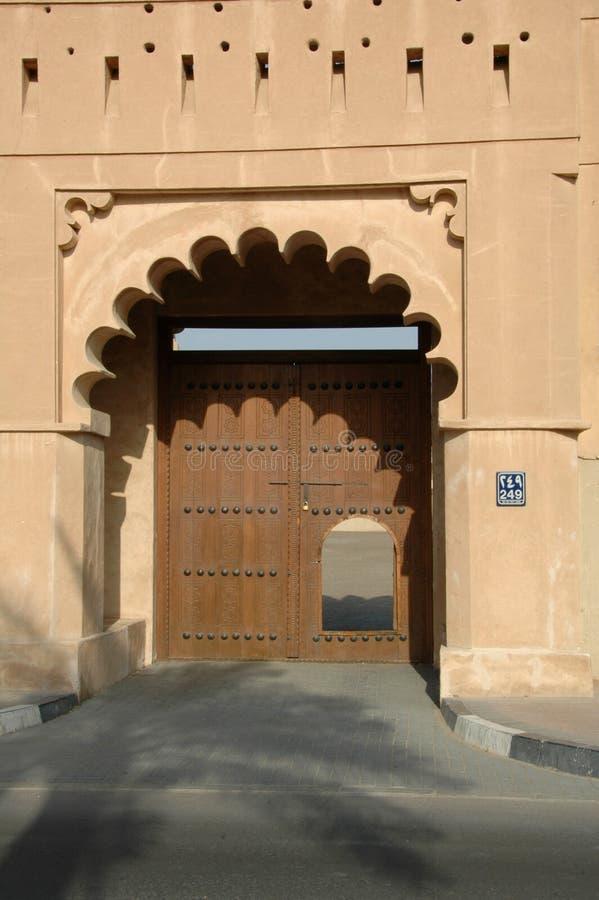 Al Ain Fort, Emirate av Abu Dhabi fotografering för bildbyråer