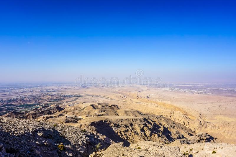 Al Ain Jabal Hafeet Mountain royalty free stock photography