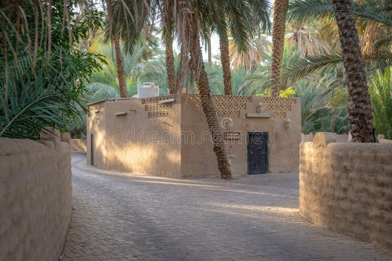 Al Ain Oasis Mosque arkivfoto