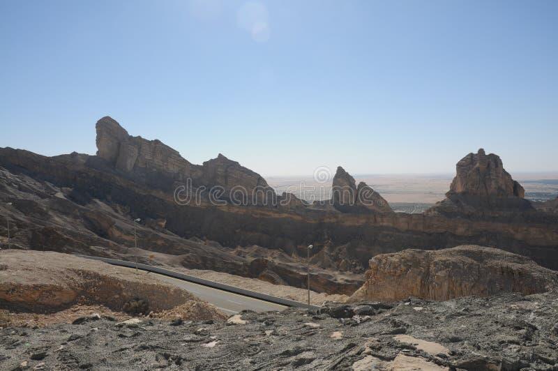 Al- Ainberge stockfotos