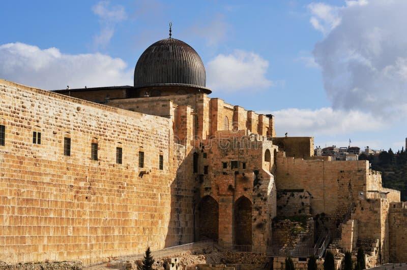 Al Aqsa Mosque, Jerusalem stock image