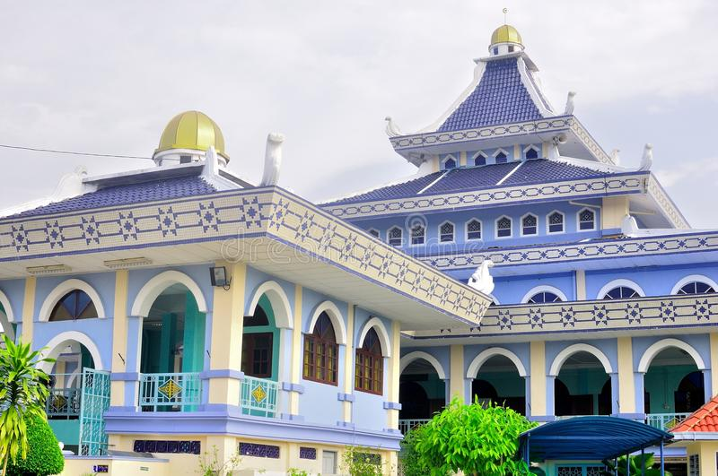 Al-alam mosque in Melaka. Al-Alam mosque, located at the ancient historical city of Malacca in Malaysia stock photos