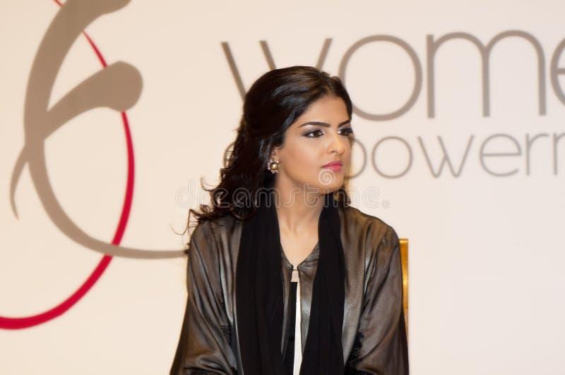 Al ameerah η πριγκήπισσα highness της taweel στοκ εικόνα