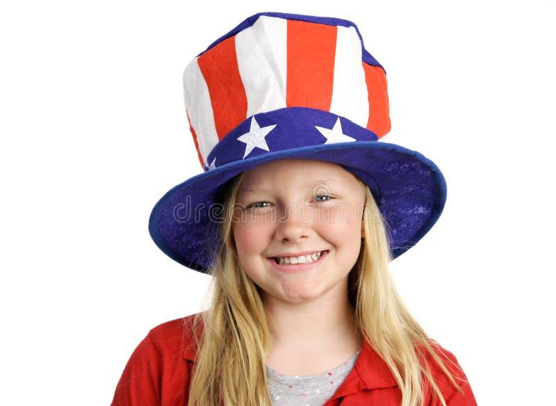 Al Amerikaans Meisje stock afbeeldingen