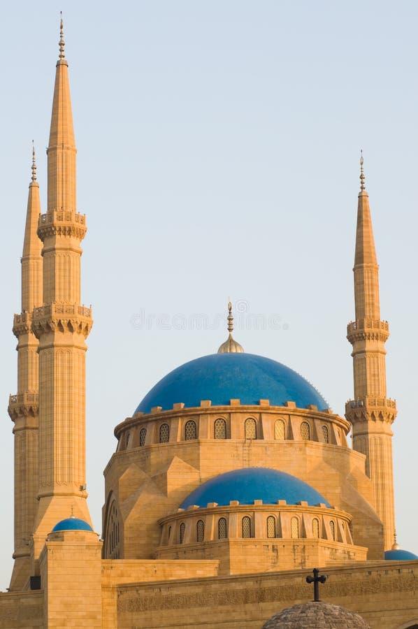 al Amin mohammad meczet zdjęcie stock