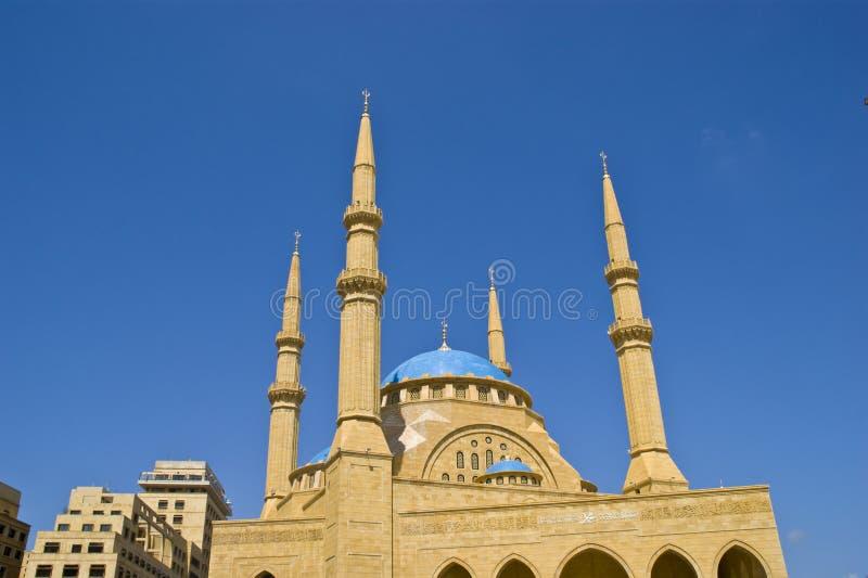 Al-Amin-Moschee stockbild