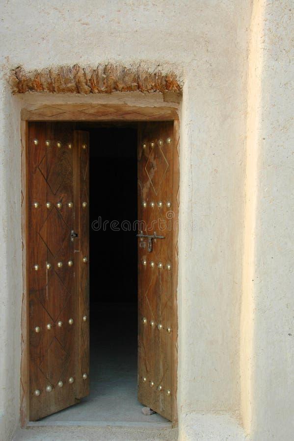 Al Anka Fort, près d'Al Ain photographie stock