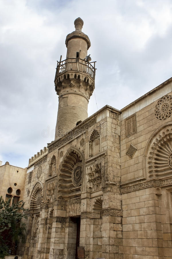 Free Al-Aqmar Mosque, Also Called Gray Mosque, Is A Mosque In Cairo, Royalty Free Stock Photography - 49265627