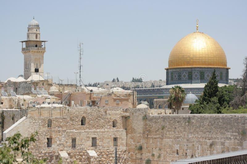Al Aqsa清真寺 免版税图库摄影