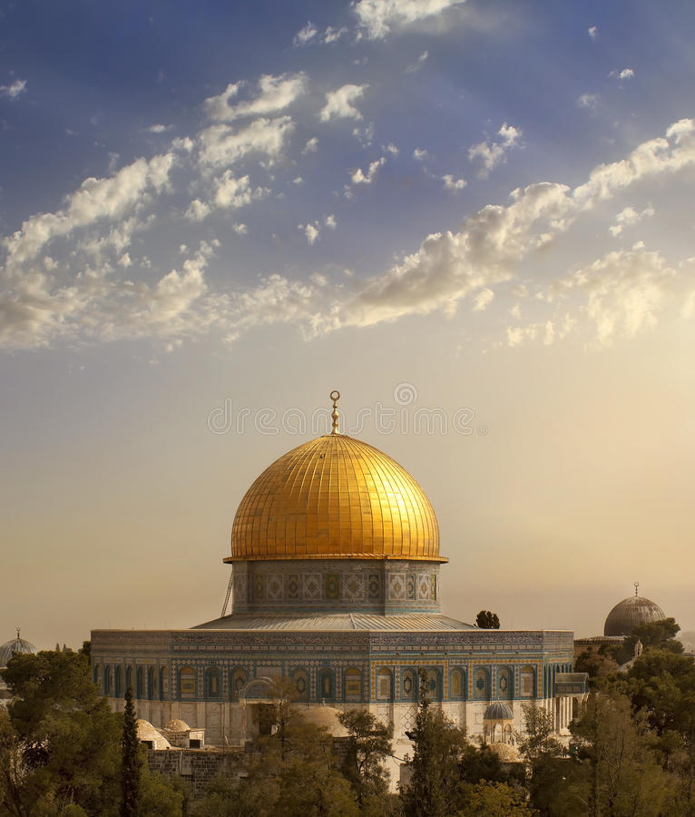 al aqsa Jerusalem meczet obrazy royalty free