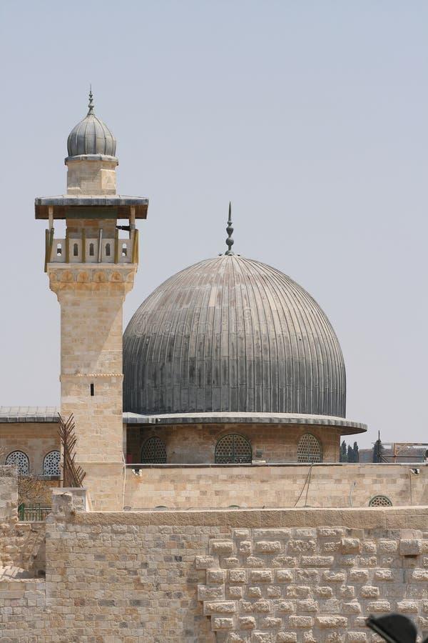 al aqsa Jerusalem meczet obrazy stock