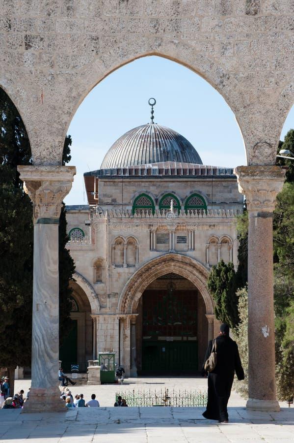 al aqsa meczet obraz stock