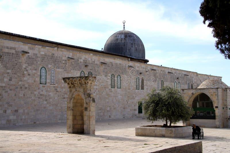 Al-aqsa Moschee in Jerusalem stockfoto