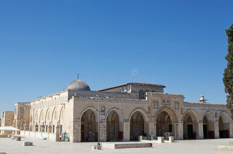 Al Aqsa Mosque lizenzfreies stockbild