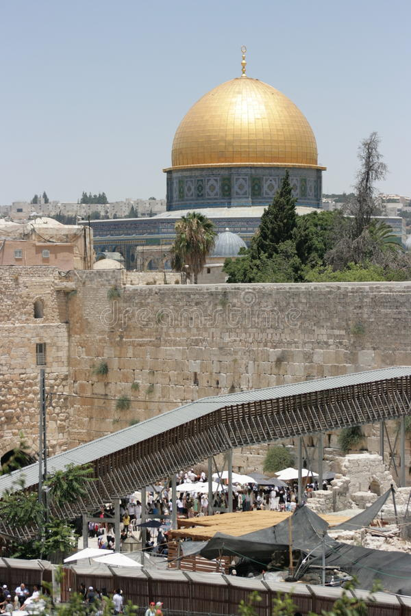 Al Aqsa Mosque royalty-vrije stock foto