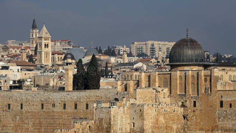 Al Aqsa Mosque, Gerusalemme, Israele fotografia stock
