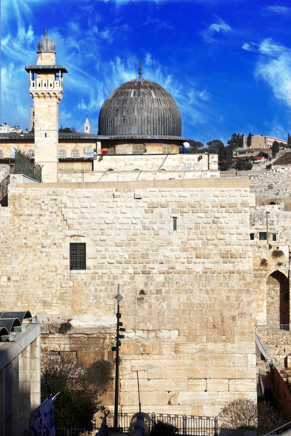 Download Al Aqsa Mosque In Jerusalem Stock Image - Image: 18135031