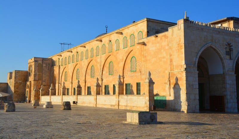 Al--Aqsamoschee stockbild