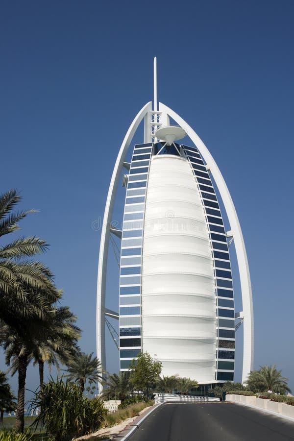 Al-Arabe de Burj, Dubaï image libre de droits