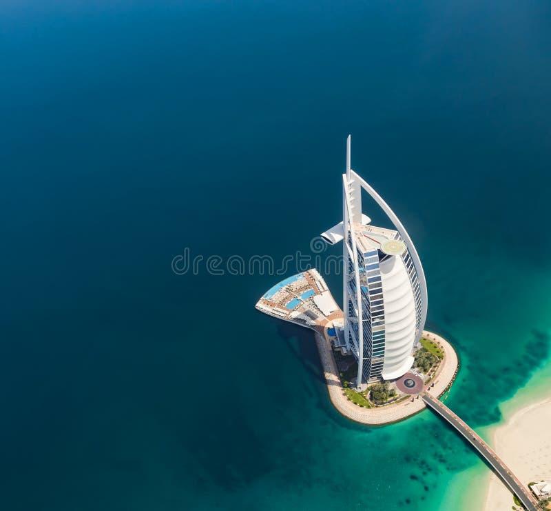 Al Arabier van Burj royalty-vrije stock fotografie