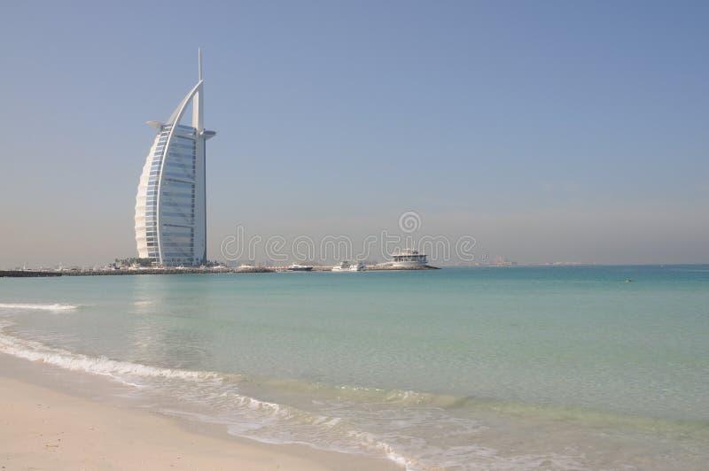 al arabski burj Dubai hotel zdjęcia stock