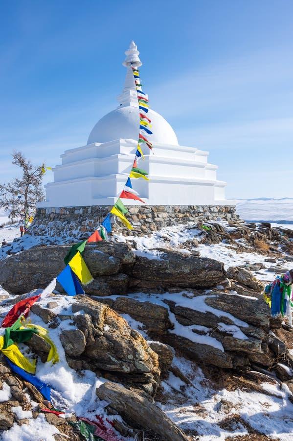Al Auspicious Stupa of Great Awakening stock afbeelding