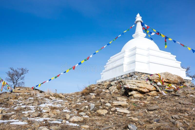 Al Auspicious Stupa of Great Awakening royalty-vrije stock afbeeldingen
