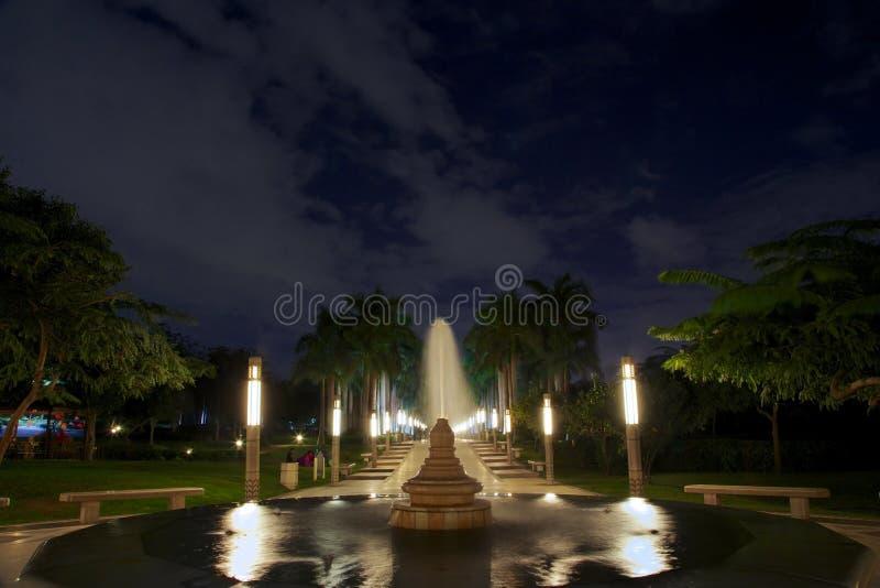 Al Azhar Park lizenzfreie stockfotografie