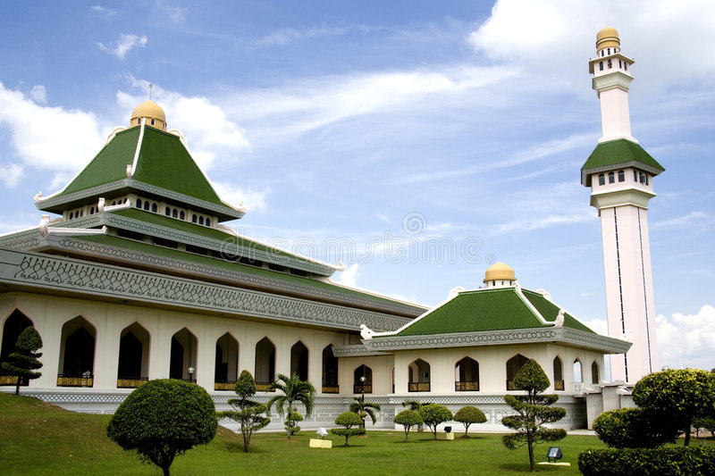 Download Al-Azim Mosque stock image. Image of building, malaysia - 2084451