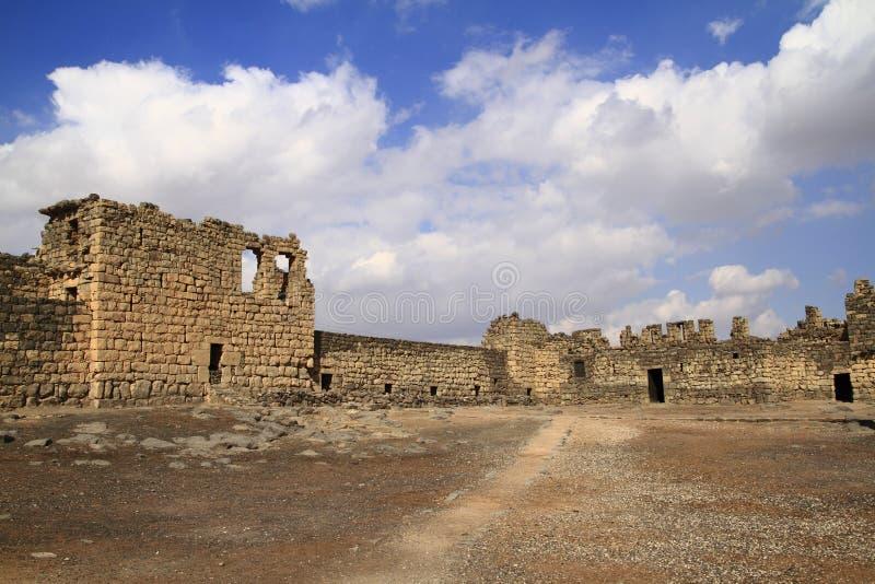 Al-Azraq de Qasr foto de archivo