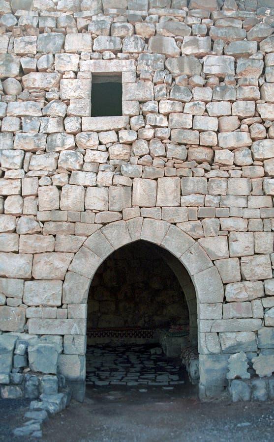 Al-Azraq de Qasr - fort médiéval, Azraq, Jordanie photo stock