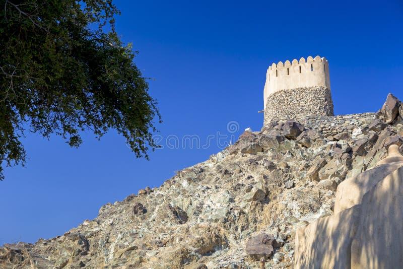 Al Badiyah meczet - jest stary w UAE obrazy royalty free