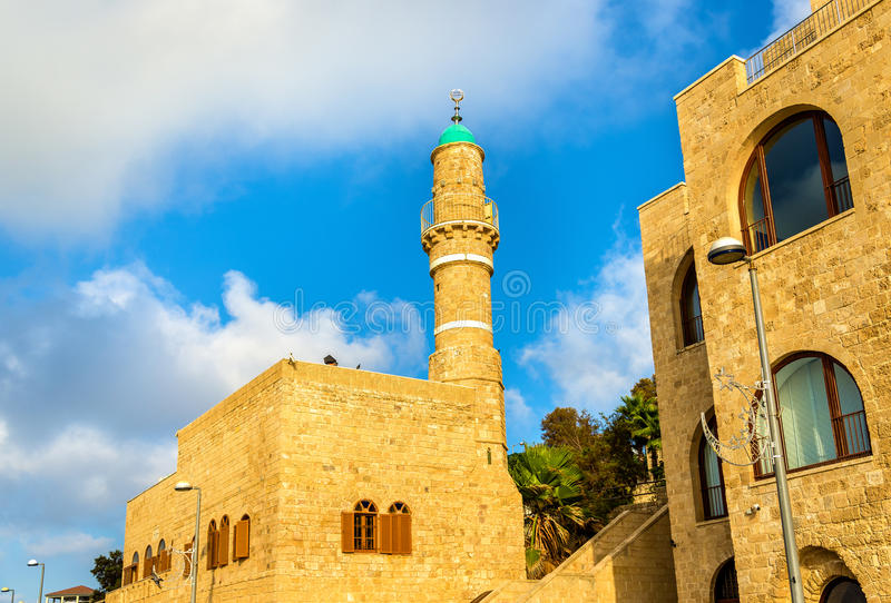 Al-Bahr Mosque in Tel Aviv-Jaffa - Israel. The Al-Bahr Mosque in Tel Aviv-Jaffa - Israel royalty free stock photography