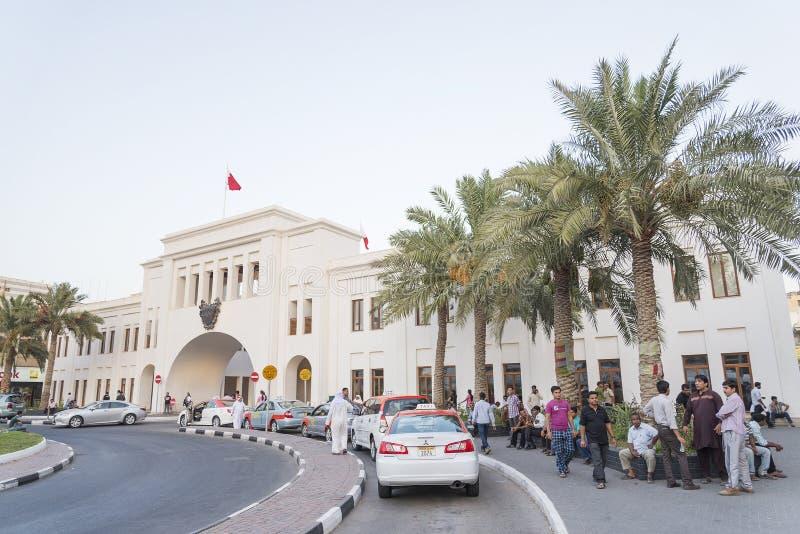 Al Bahrain Manama Bahrain di Bab fotografia stock