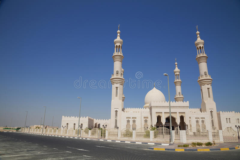 Download Al-Bahya Mosque, Abu Dhabi, UAE Stock Image - Image: 14581701