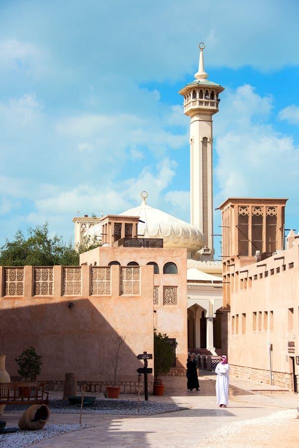 Al Bastakiya royalty-vrije stock afbeeldingen