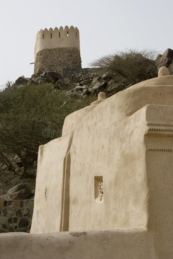 Al Bidyah Mosque stockfotografie