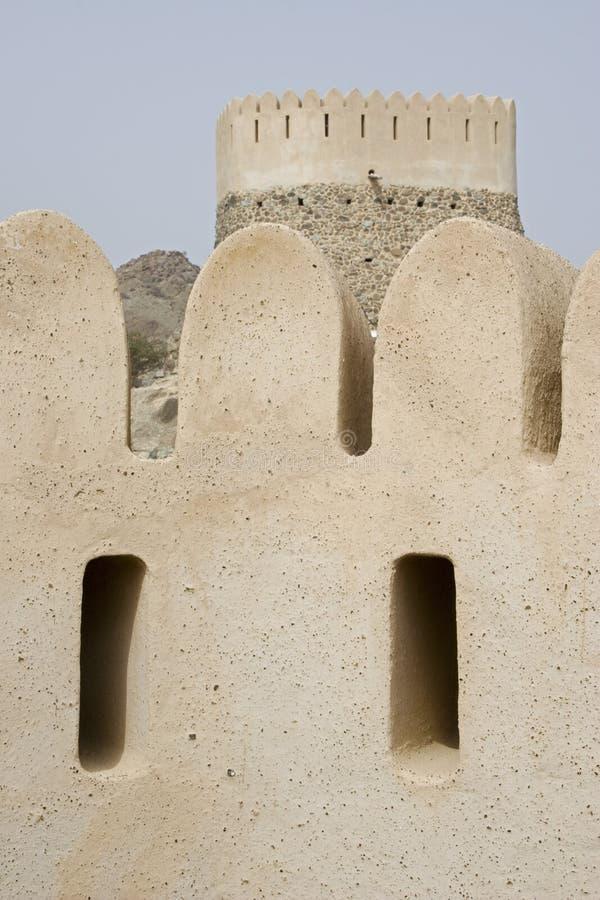 Al Bidyah Mosque With Watchtower photo libre de droits