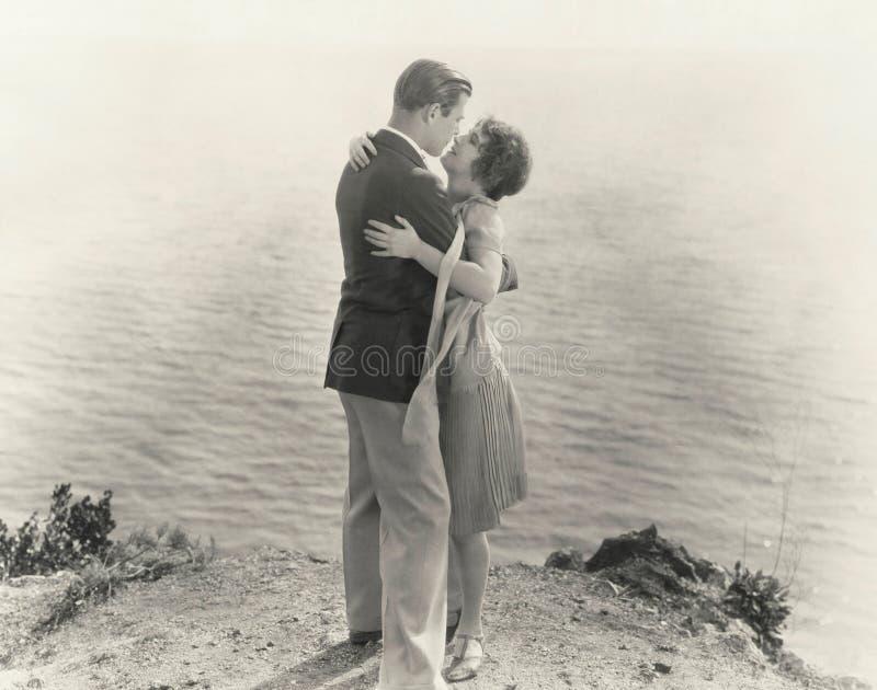 Al borde de romance fotografía de archivo