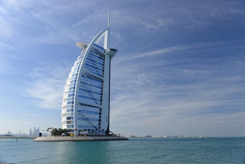 al burj hotel arabskiego obrazy stock