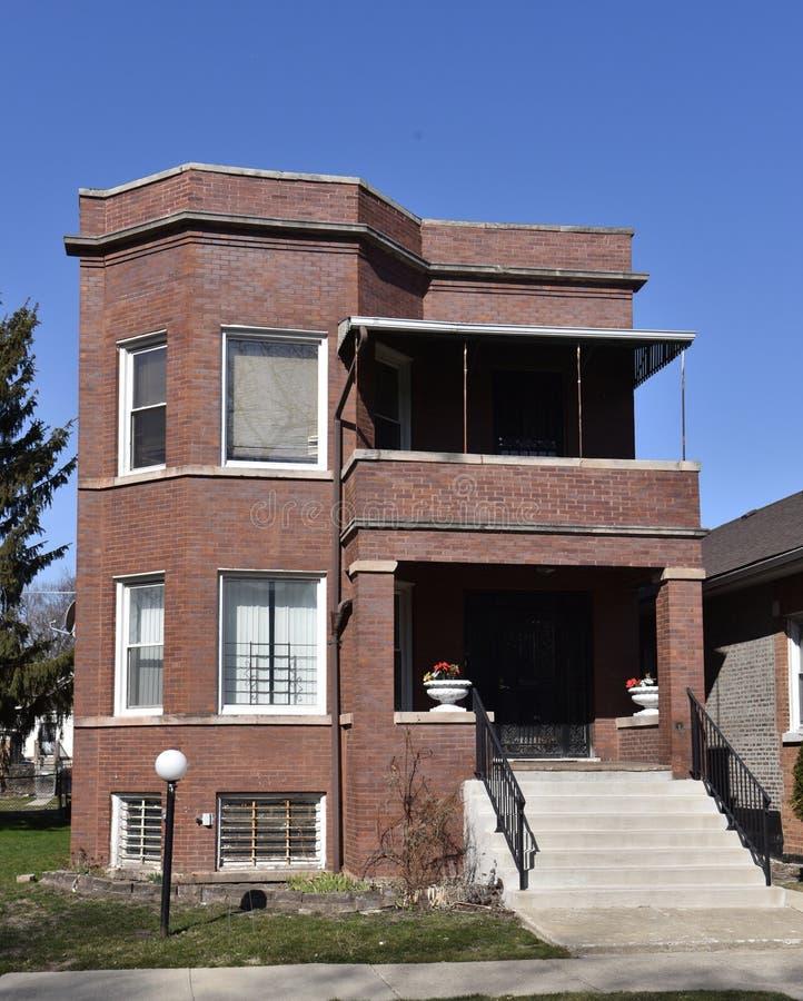 Al Capone's Southside dom zdjęcia royalty free