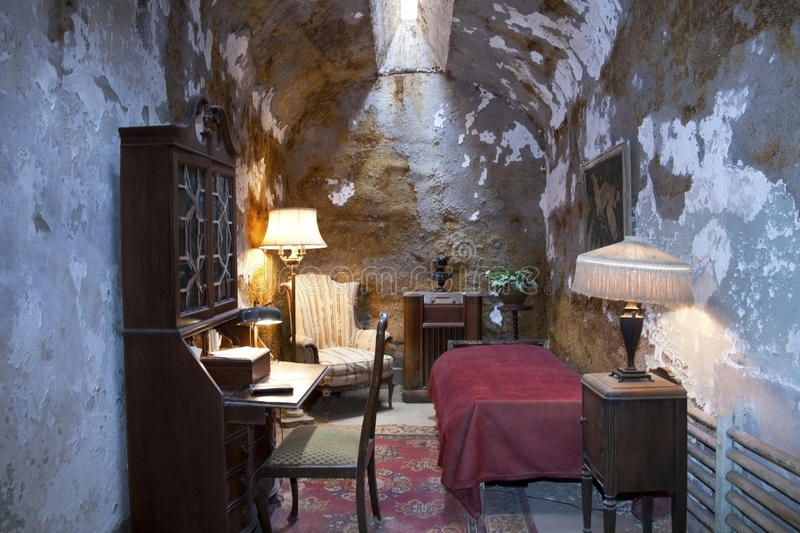 Al Capone Cell at Eastern Penn stock photo