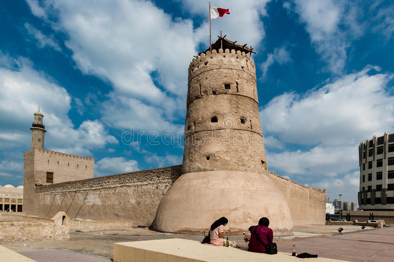 The Al Fahidi Fort In Dubai Editorial Stock Photo